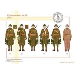 Equipe mortier de 60, 1940
