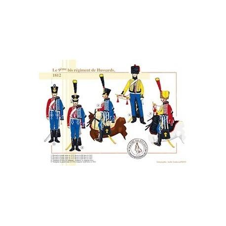 Le 9ème bis régiment de Hussards, 1812