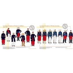 La Légion Etrangère au Mexique, troupe et officiers, 1861-1867
