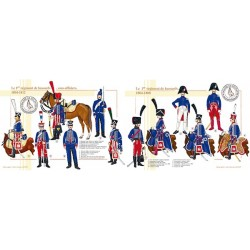 Le 1er régiment de hussards, officiers et sous-officiers, 1804-1812