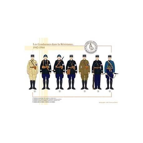 Les Gendarmes dans la Résistance, 1942-1944