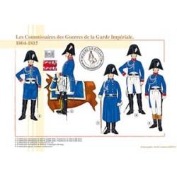 Les Commissaires des Guerres de la Garde Impériale, 1804-1815