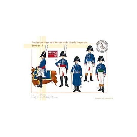 Les Inspecteurs aux Revues de la Garde Impériale, 1804-1815