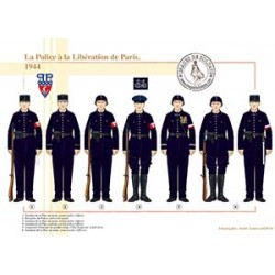 La Police à la Libération de Paris, 1944