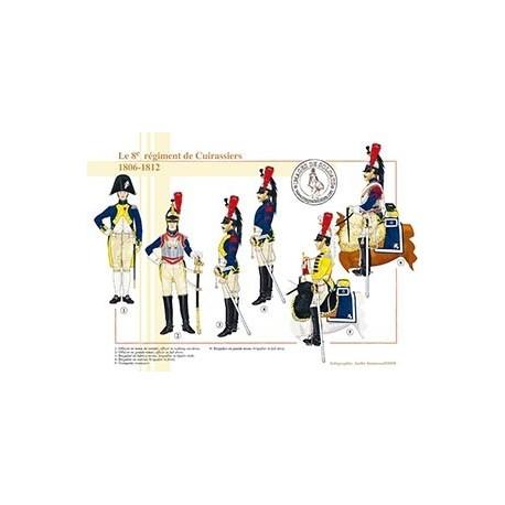 Le 8ème régiment de Cuirassiers, 1806-1812