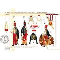 L'Aide de camp du Major Général de la Grande Armée, 1812