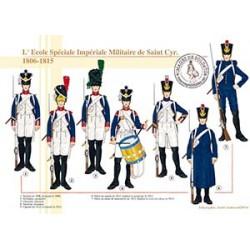 L'Ecole Spéciale Impériale Militaire de Saint-Cyr, 1806-1815