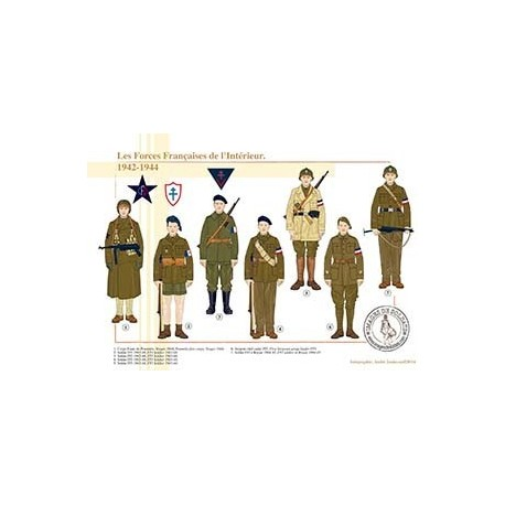 Les Forces Françaises de l'Intérieur, 1942-1944