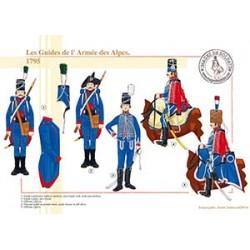 Les Guides de l'Armée des Alpes, 1795