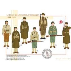 L'Armée de Libération, l'Infanterie, 1944-1945
