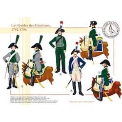 Les Guides des Généraux, 1792-1794
