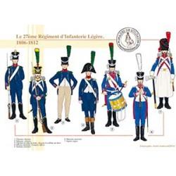 Le 27ème Régiment d'Infanterie Légère, 1806-1812