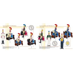 Les Carabiniers de Monsieur, 1816-1824