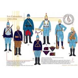 Les Cuirassiers, 1915-1916