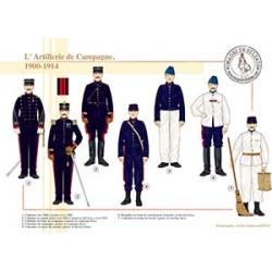 L'Artillerie de Campagne, 1900-1914
