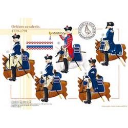 Orléans cavalerie, 1779-1791