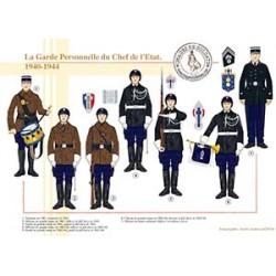 La Garde Personnelle du Chef de l'Etat, 1940-1944