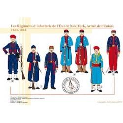 Les Régiments d'Infanterie de l'Etat de New York, Armée de l'Union, 1861-1865