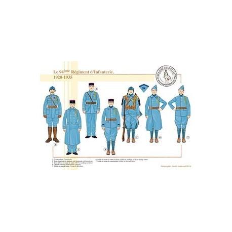 Le 94ème Régiment d'Infanterie, 1920-1935