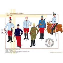 Les Chasseurs à cheval, 1900-1914