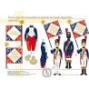 Porte-aigle des Grenadiers à pied de la Garde Impériale, 1804-1811