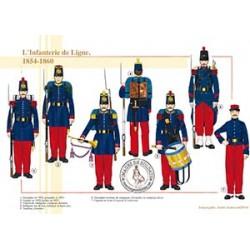 L'Infanterie de Ligne, 1854-1860