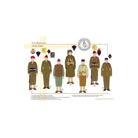 Les Zouaves, 1944-1960