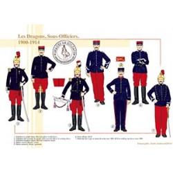 Les Dragons, Sous-Officiers, 1900-1914