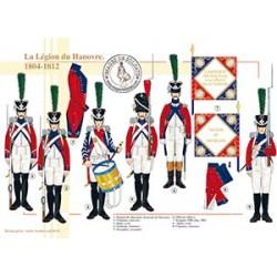 La Légion du Hanovre, 1804-1812