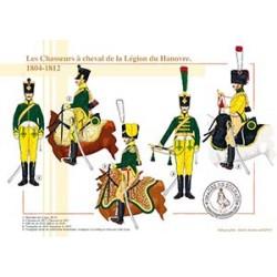 Les Chasseurs à cheval de la Légion du Hanovre, 1804-1812