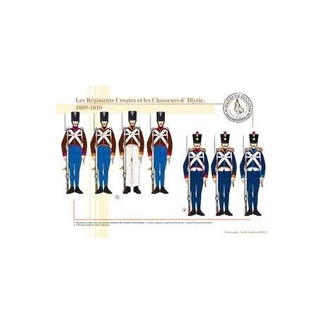 Les Régiments Croates et les Chasseurs d'Illyrie, 1809-1810