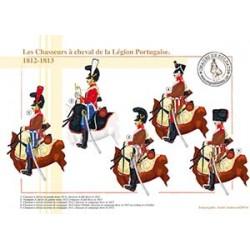 Les Chasseurs à cheval de la Légion Portugaise, 1812-1813