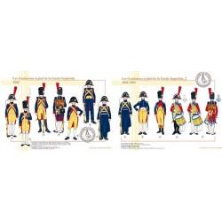 Les Gendarmes à pied de la Garde Impériale, 1804-1806