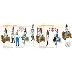 Le 14ème régiment de Cuirassiers, 1810-1814