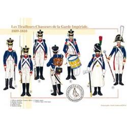 Les Tirailleurs-Chasseurs de la Garde Impériale, 1809-1810