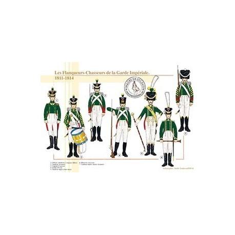 Les Flanqueurs-Chasseurs de la Garde Impériale, 1811-1814