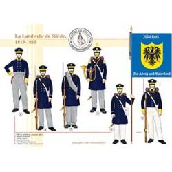 La Landwehr de Silésie, 1813-1815