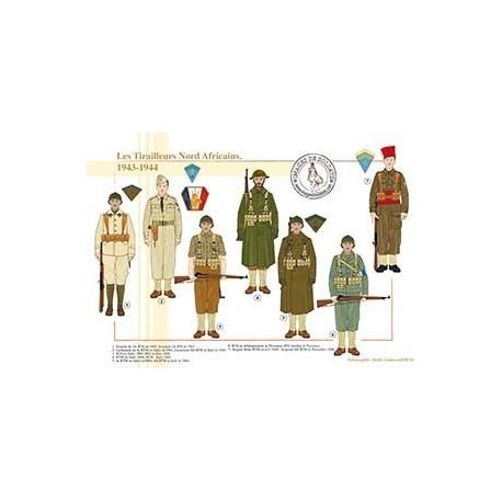 Les Tirailleurs Nord Africains, 1943-1944