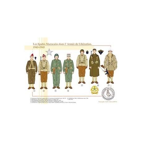 Les Spahis Marocains dans l'Armée de Libération, 1943-1945