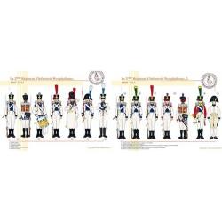 Le 2ème Régiment d'Infanterie Westphalienne, 1807-1813