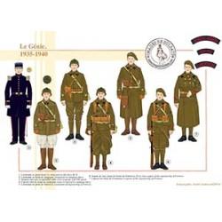 Le Génie, 1935-1940