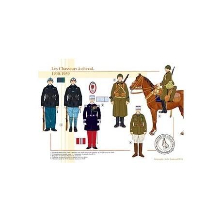 Les Chasseurs à cheval, 1930-1939
