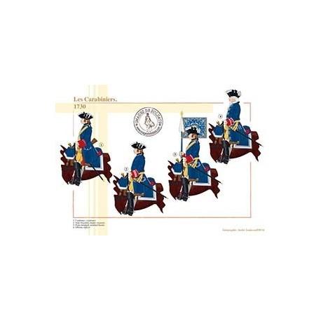 Les Carabiniers, 1730