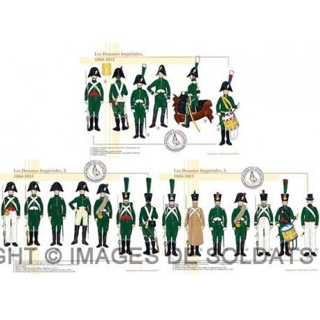 Les Douanes Impériales, 1804-1815