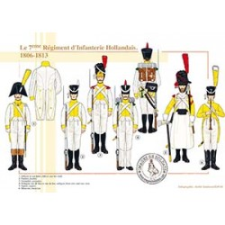 Le 7ème Régiment Hollandais, 1806-1813