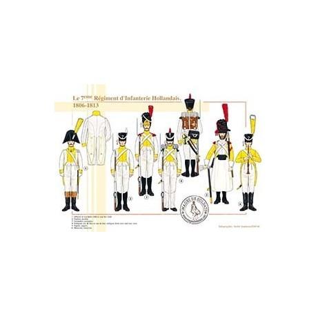 Le 7ème Régiment Hollandais, 1806-1813