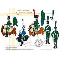 Le 16ème Régiment de Chasseurs à cheval, 1806-1812