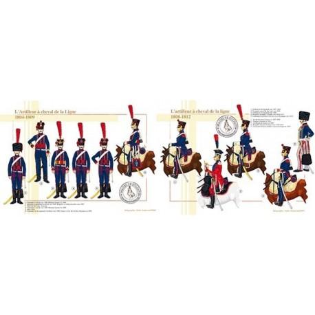 L'artilleur à cheval de la Ligne, 1804-1812