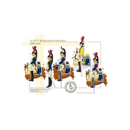 Le 12ème Régiment de Cuirassiers, 1806-1810