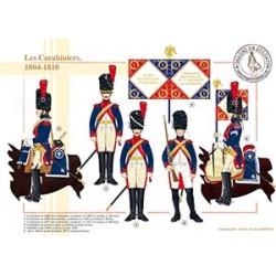Les Carabiniers, 1804-1810